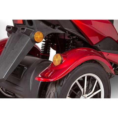 EWheels EW-10 Sport 3-Wheel Scooter Rear Turn Signals And Brake Light