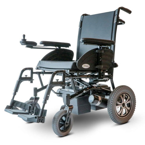 Image of EWheels EW-M47 Folding Power Wheelchair With Large Rear Tires