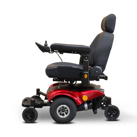 EWheels EW-M48 Power Wheelchair In Red