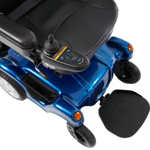 Image of Merits Health Dualer Powerchair P312 Joystick And Front Wheels And Foot Support