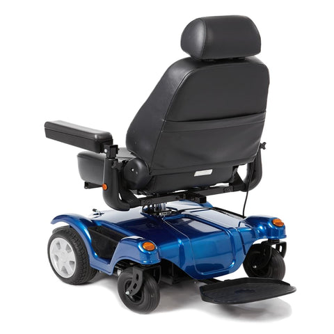 Image of Merits Health Dualer Powerchair P312 With Captain's Seat Rotated Backwards