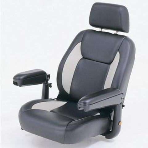Image of Merits Health Pioneer 10 S341 DLX Bariatric 4-Wheel Mobility Scooter Large Comfortable Captain's Seat