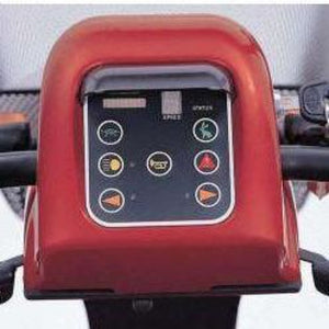 Merits Health Pioneer 3 S131 3-Wheel Electric Mobility Scooter Control Panel