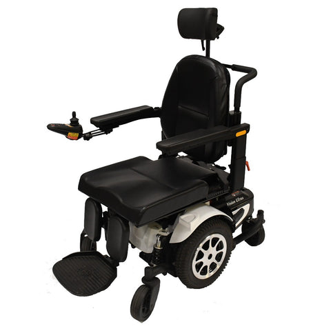 Image of Merits Health Vision Ultra P325 Tilt Power Chair With Joystick Mounted On Right Armrest