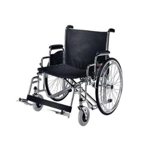 Merits Health ZION N472 Extra Heavy Duty Bariatric Wheelchair With Extra Wide Seat And Foot Supports