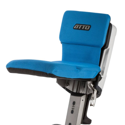 Image of Moving Life Seat Cushion In Blue