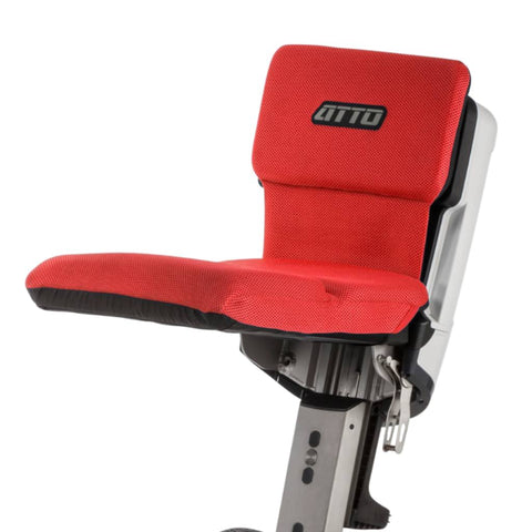 Image of Moving Life Seat Cushion In Red