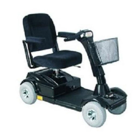 PaceSaver Eclipse Atlas 4-Wheel Bariatric Scooter 15073 In Black With Large Front Basket