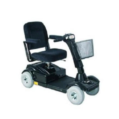 PaceSaver Eclipse Atlas 5 4-Wheel Bariatric Scooter 15087 In Black With Large Front Basket