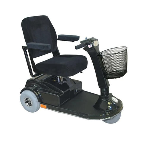 PaceSaver Espree Atlas 3-Wheel Bariatric Scooter 15035 In Black