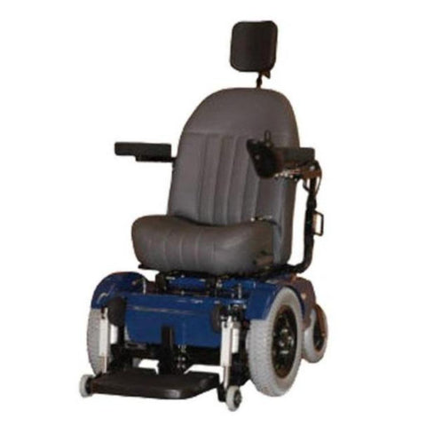 Image of PaceSaver Scout 4 Post With Suspension Bariatric Power Chair 81140PaceSaver Scout 4 Post With Suspension Bariatric Power Chair 81140 With Headrest