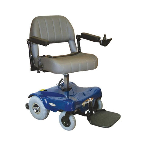 Image of PaceSaver Scout M1 Convertible 350 Power Chair 81855 In Blue