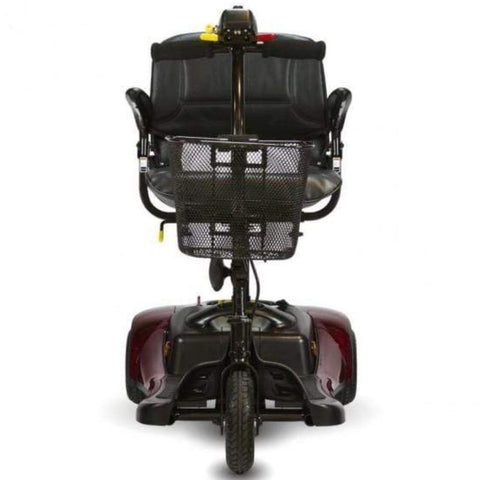 Shoprider Dasher 3 Portable 3 Wheel Mobility Scooter GK83 Front View Of Single Front Tire