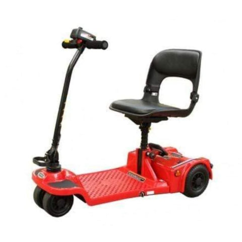 Image of Shoprider Echo Folding 4 Wheel Mobility Scooter FS777 In Red
