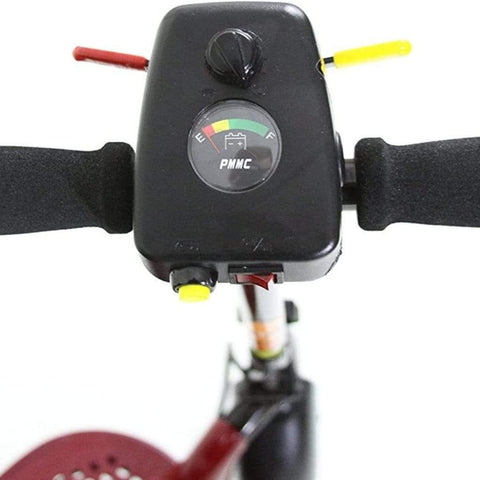 Image of Shoprider Echo Light Weight 3 Wheel Folding Mobility Scooter SL73 Battery Indicator