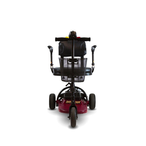 Image of Shoprider Echo Light Weight 3 Wheel Folding Mobility Scooter SL73 Front View