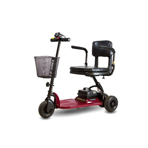 Shoprider Echo Light Weight 3 Wheel Folding Mobility Scooter SL73 In Red
