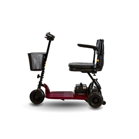 Image of Shoprider Echo Light Weight 3 Wheel Folding Mobility Scooter SL73 Left Side View