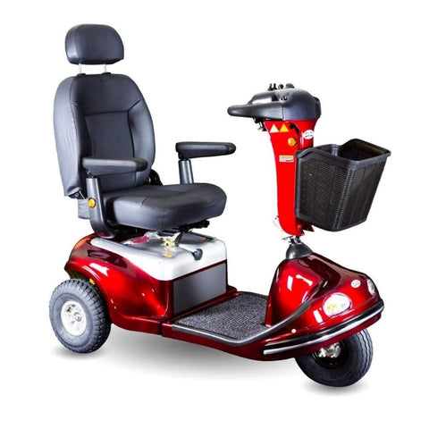 Image of Shoprider Enduro XL3+ Heavy Duty 3 Wheel Bariatric Mobility Scooter 778XLSBN With Comfortable Captain's Seat