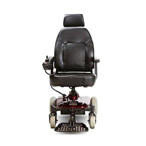 Image of Shoprider Jimmie Captain Seat Travel Power Chair UL8WPBS Front View