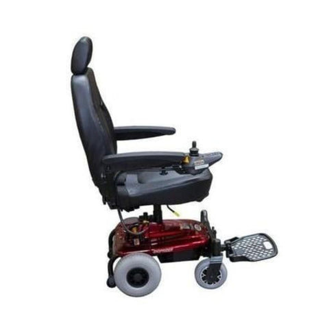 Image of Shoprider Jimmie Captain Seat Travel Power Chair UL8WPBS With Headrest