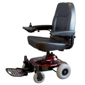 Shoprider Jimmie Captain Seat Travel Power Chair UL8WPBS With Headrest Removed