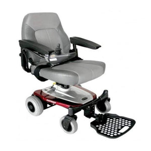 Shoprider Smartie Portable Power Chair UL8W In Red