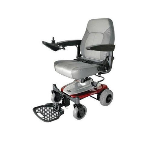 Image of Shoprider Smartie Portable Power Chair UL8W In Red