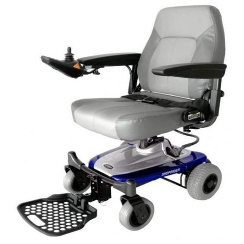 Image of Shoprider Smartie Portable Power Chair UL8W In Blue