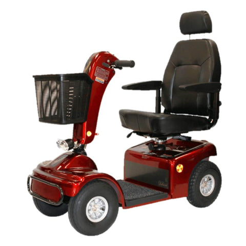 Image of Shoprider Sprinter XL4 Heavy Duty 4 Wheel Mobility Scooter 889B-4 With Comfortable Captain's Seat And Large Front Basket