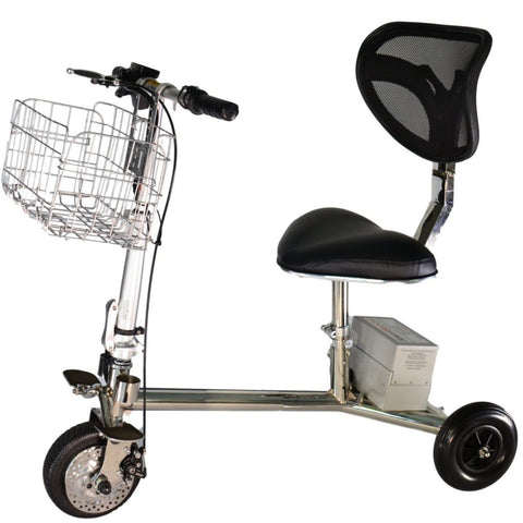Image of SmartScoot Lightweight Foldable Mobility Scooter S1200 With Large Front Basket