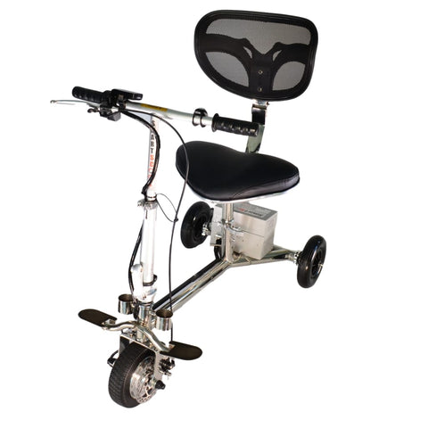 SmartScoot Lightweight Foldable Mobility Scooter S1200 Without Front Basket