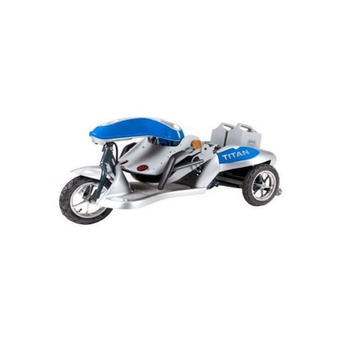 Tzora Titan 3 Folding 3-Wheel Mobility Scooter Folded