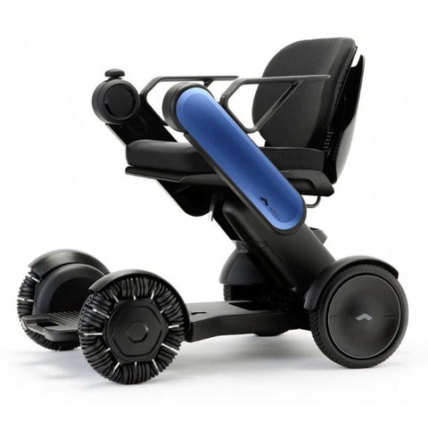 Image of WHILL Model Ci Travel/Portable Power Wheelchair 210-06874 In Blue Left Side View