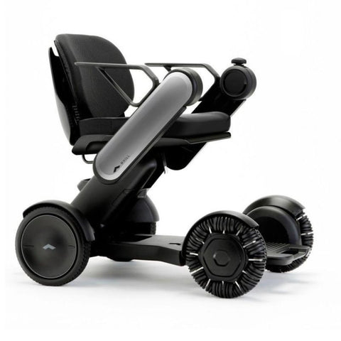 Image of WHILL Model Ci Travel/Portable Power Wheelchair 210-06874 In Gray Right Side View