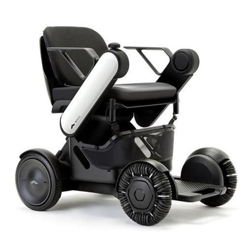 Image of WHILL Model Ci Travel/Portable Power Wheelchair 210-06874 In White Right Side View