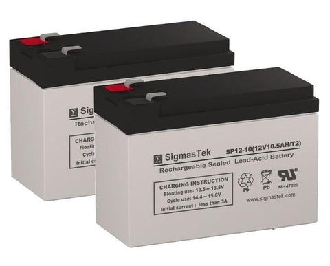 Image of Shoprider Echo Folding Scooter Battery (2 Batteries) SP12-10
