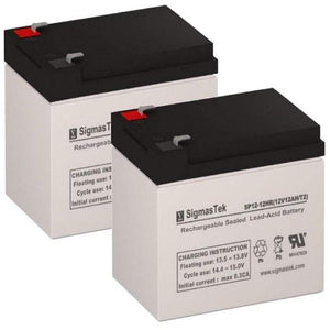 Drive Medical Phoenix Replacement Battery (2 Batteries) SP12-12