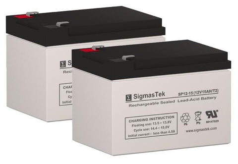 Image of Shoprider EZ Chopper Replacement Battery (2 Batteries) SP12-12