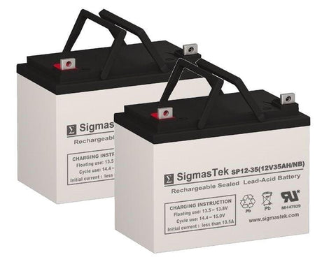 Drive Medical Titan Replacement Battery (2 Batteries) SP12-35