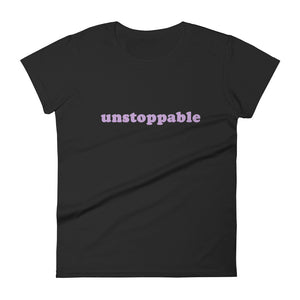 "Silver Manner. Tee shirt ""Unstoppable""."