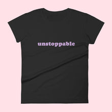 "Charger l'image dans la galerie, Tee-shirt ""Unstoppable"" Silver Manner"