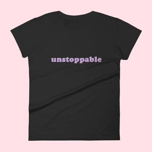 "Tee-shirt ""Unstoppable"" Silver Manner"