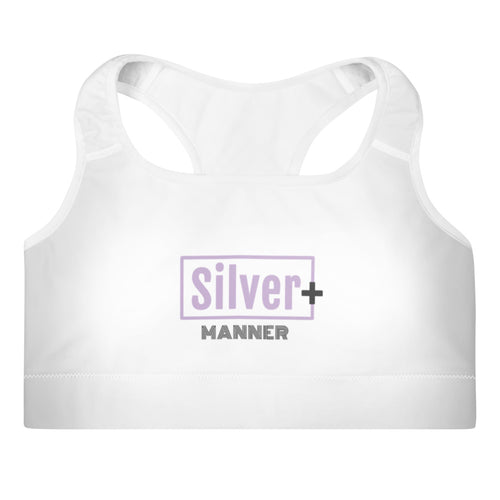 Brassière de sport Silver Manner