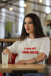 "Tee-shirt ""Muse"" Silver Manner"