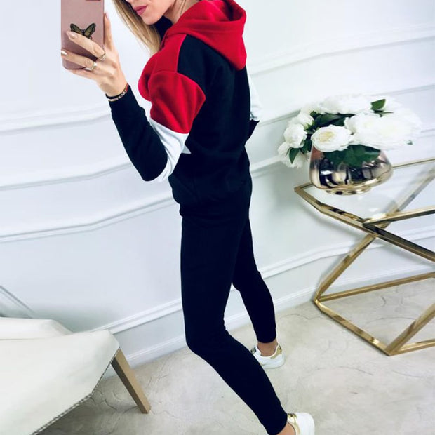 Black Casual Sweatsuit