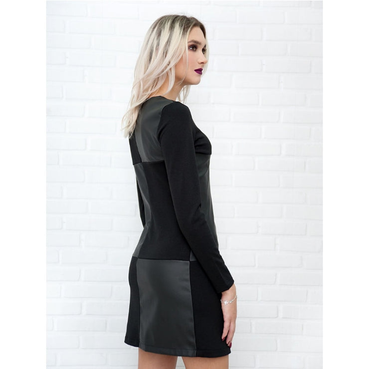 Vintage Leather Dress