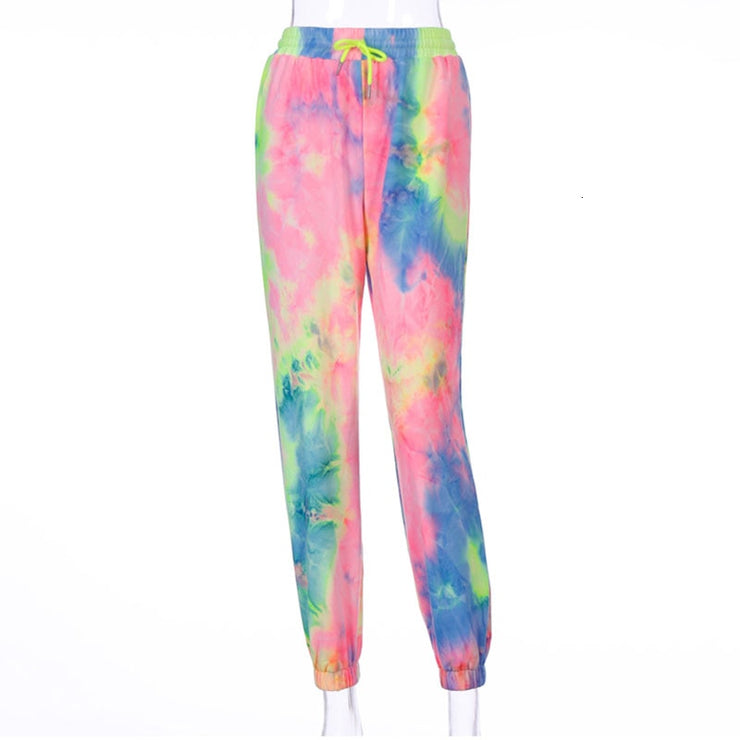 Colorful High Waist Pants