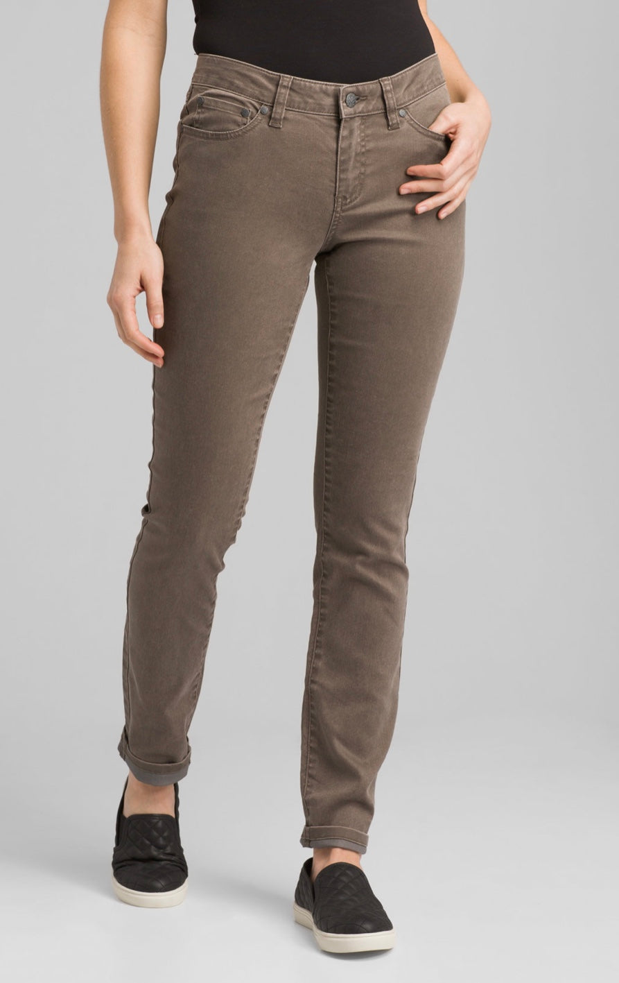 prAna Kayla Pant-Color Dark Mud