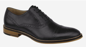 Johnston & Murphy Conard Black Calfskin